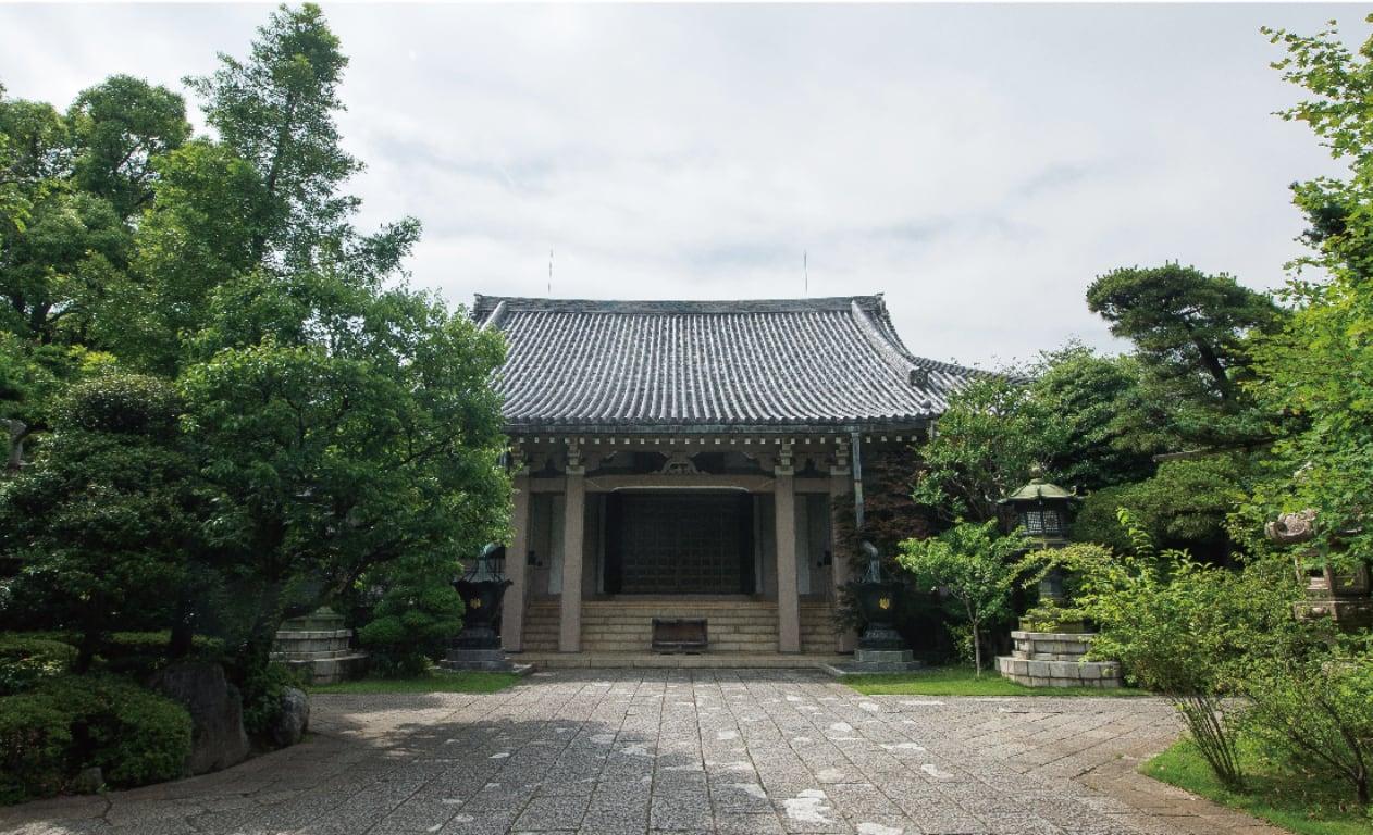 現在の龍雲寺本堂