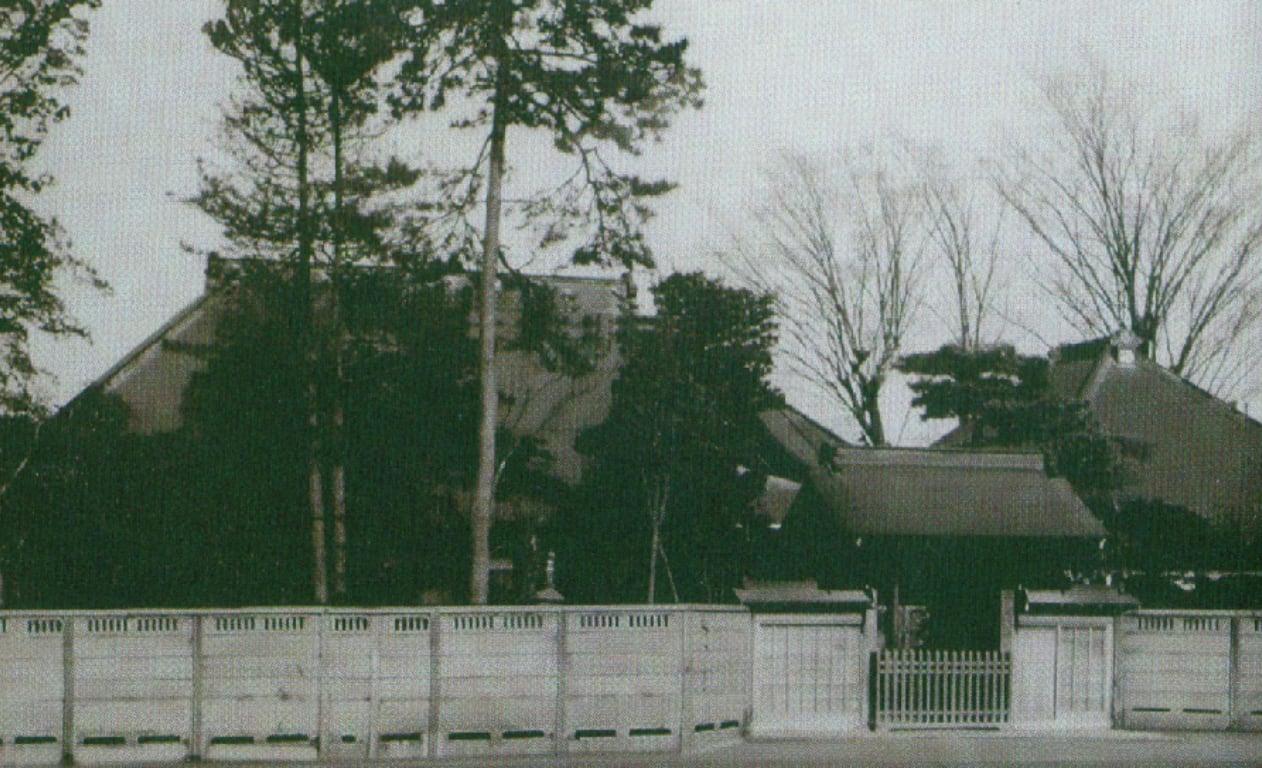 昭和30年代前半の旧龍雲寺のようす